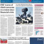 prima pagina financial times 8 ottobre