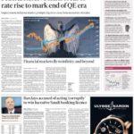 prima pagina financial times