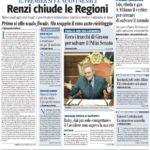 Prima pagina Il Giornale