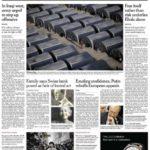 prima pagina international nyt