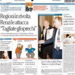Prima pagina Repubblica