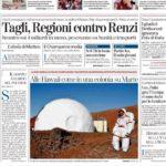 Prima pagina La Stampa