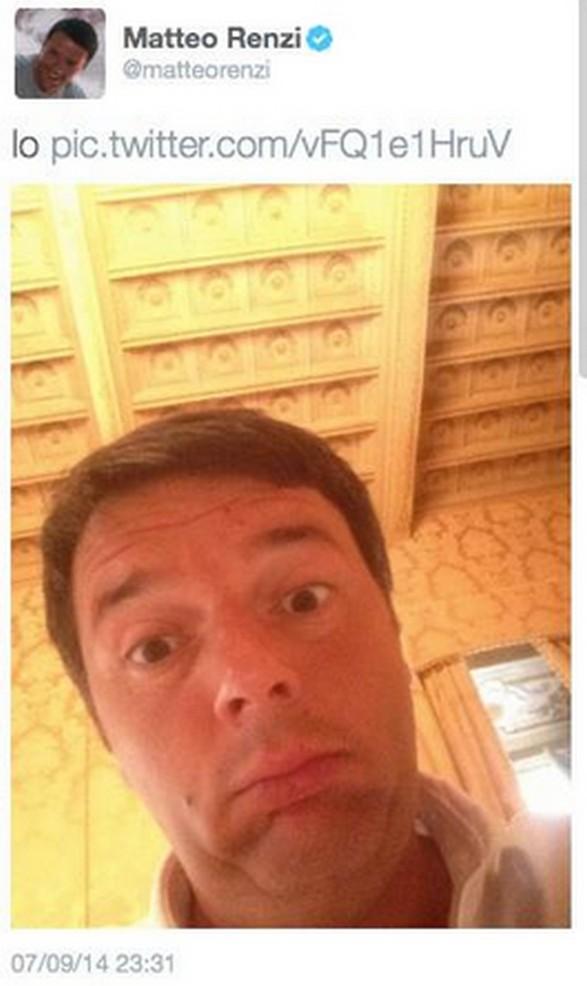 selfie renzi 2