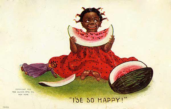 vignetta razzista obama