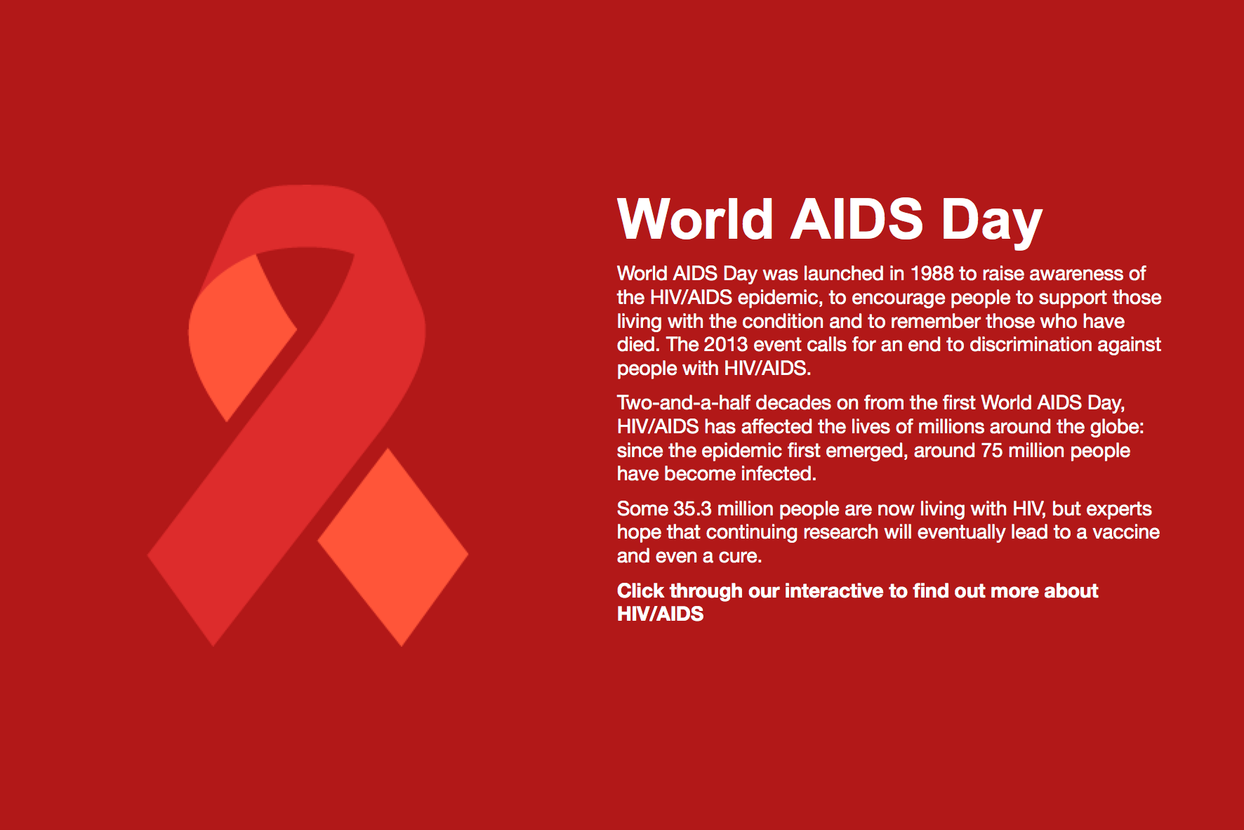 About World Aids Day