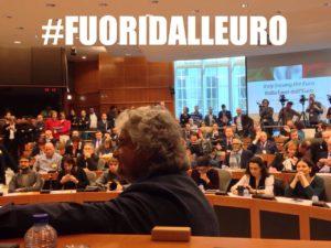 beppe grillo referendum uscire euro cop