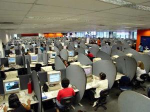 call center lavoratori