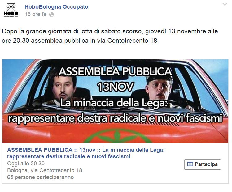 collettivo hobo salvini