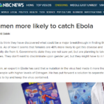 ebola women hoax