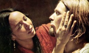 Yvonne Elliman and Ted Neeley in the 1973 film Jesus Christ Superstar
