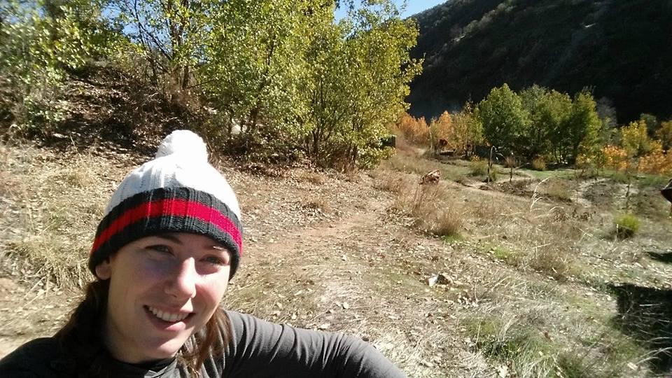 Una foto di Gill Rosenberg presa dal suo profilo Facebook (fonte: Facebook.com)
