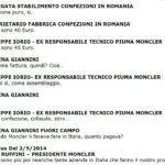 Giuseppe Iorio, i dialoghi sui risparmi di Moncler 2