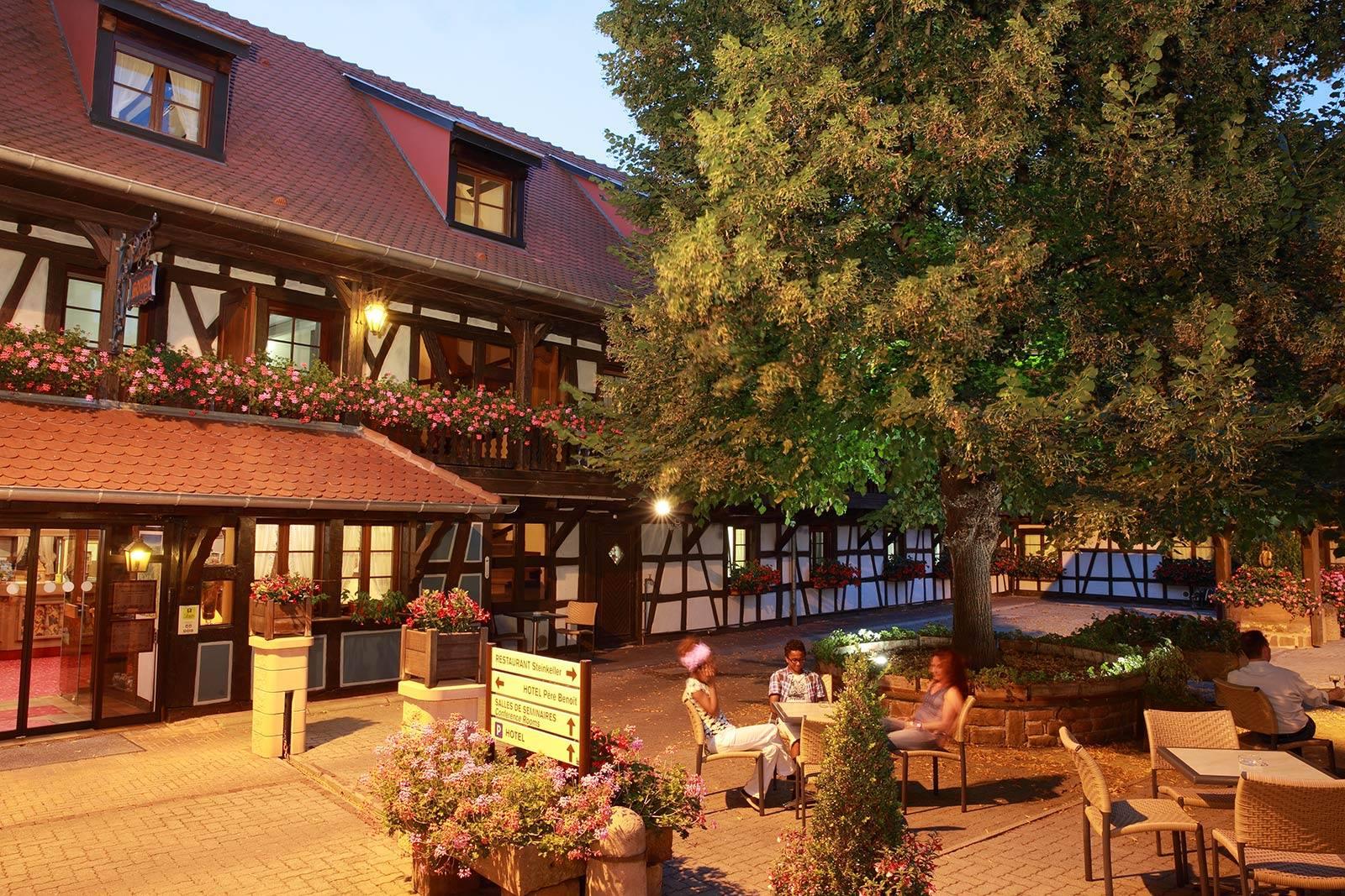 L'albergo nel meraviglioso borgo alsaziano (cit.)