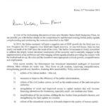 La lettera di Padoan a Moscovici e Dombrovskis 1