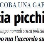 Il titolo del Giornale, 9 novembre 2014