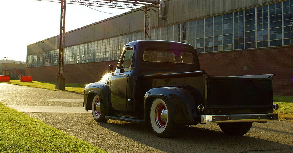quando ti rubano auto ford f100 1955 6