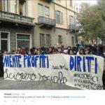 sciopero sociale - torino (fonte: Twitter.com)