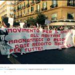 sciopero sociale - Napoli