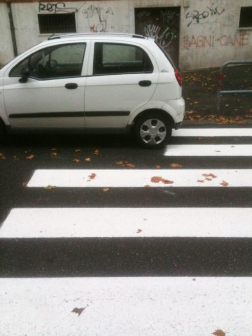 strisce pedonali roma 2