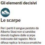 Alberto Stasi: gli elementi decisivi (Corriere della Sera, 18 dicembre 2014)