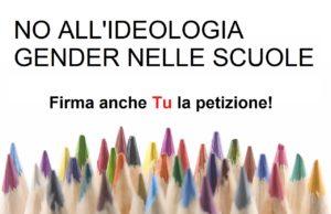 Ideologia del gender petizione