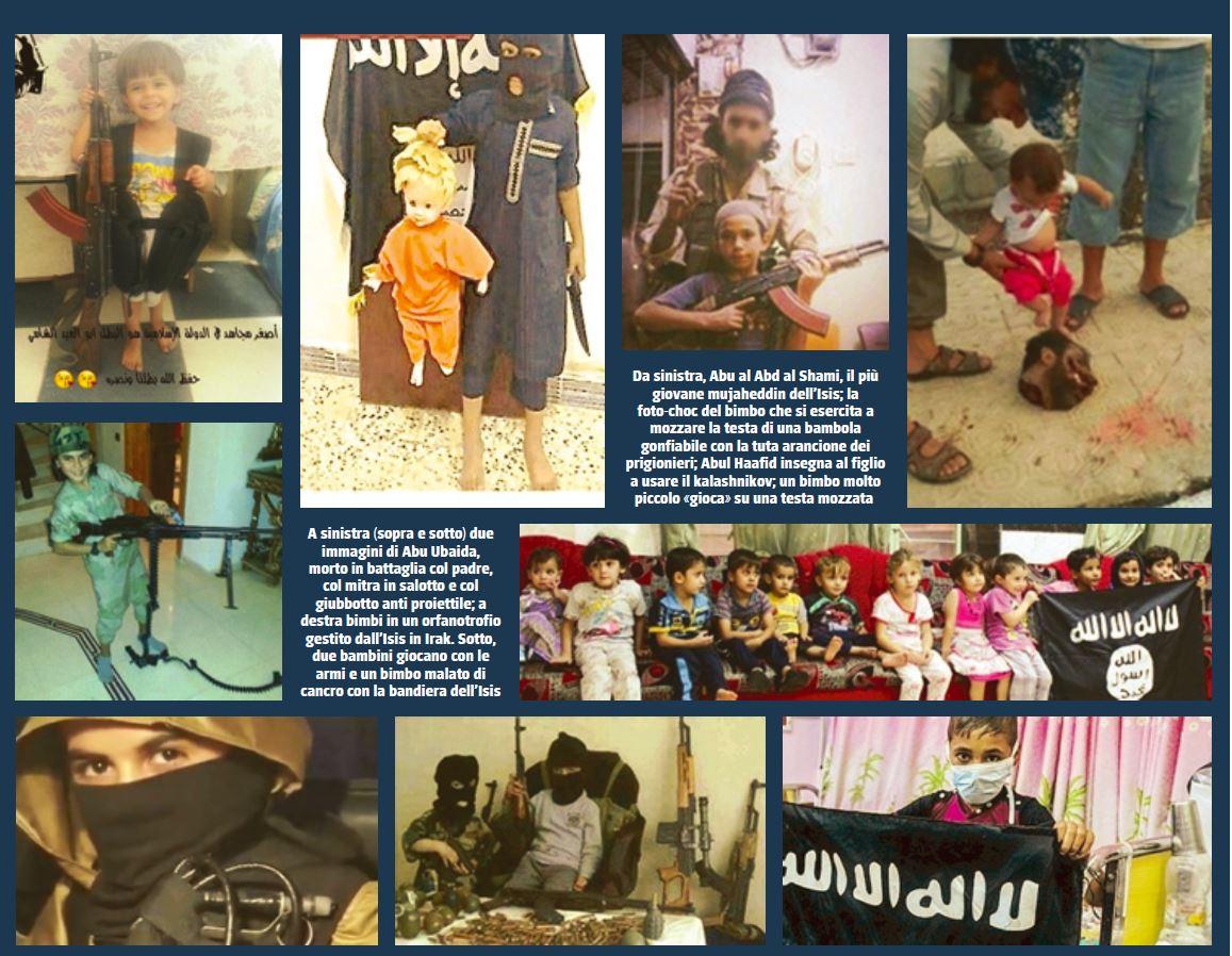 generazione orrore bambini jihad
