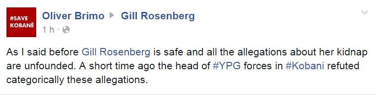 gill rosenberg facebook