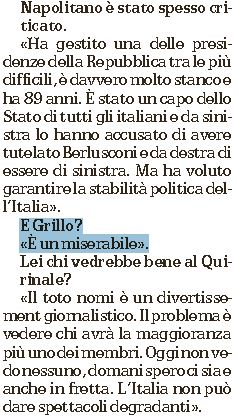 grillo miserabile macaluso