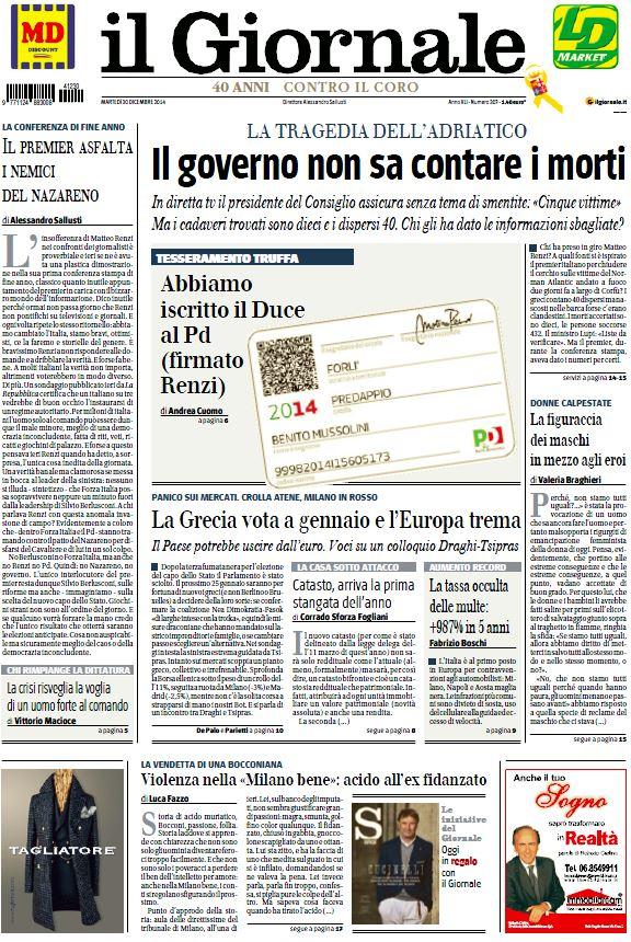 il giornale norman atlantic