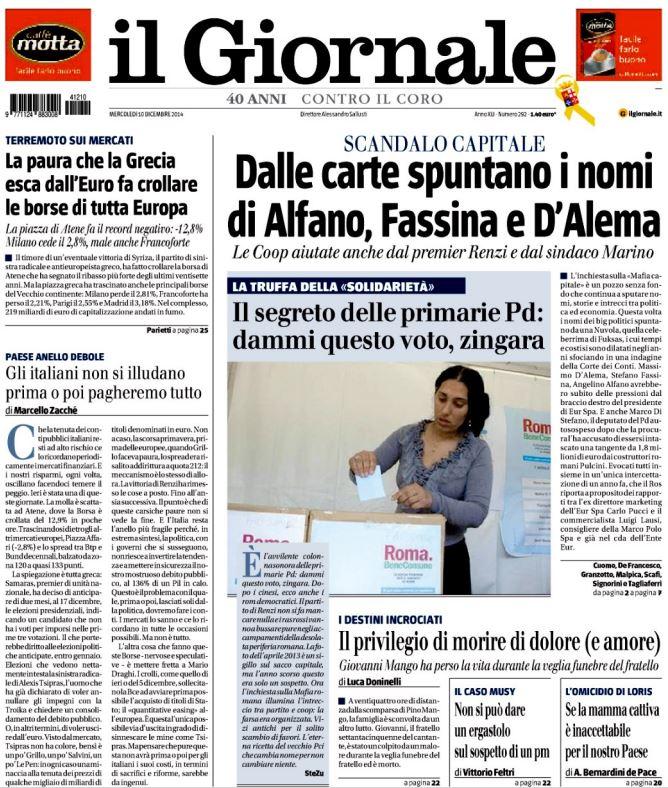 il giornale zingara
