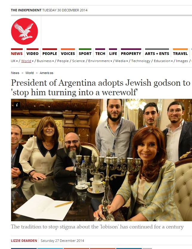 L'articolo dell'Independent (fonte: Independent.co.uk)