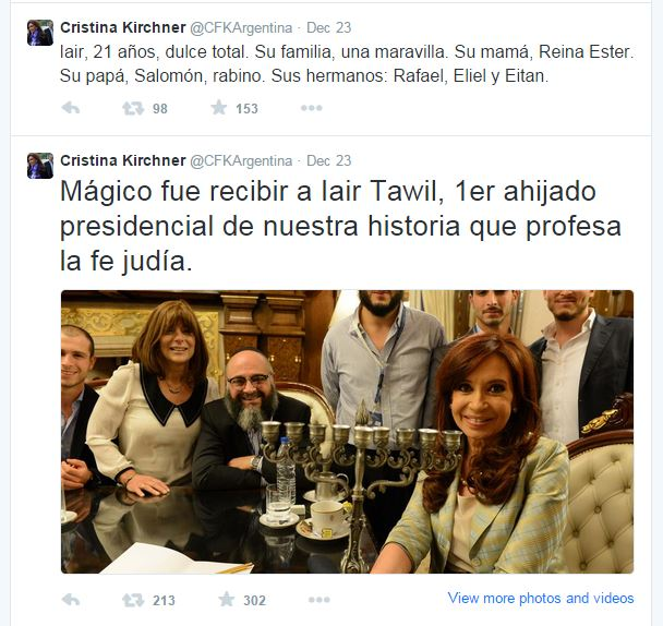 "Uno dei tweet ""incriminati"" (fonte: Twitter.com)"