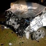 La macchina dopo l'impatto (Cronache Maceratesi)