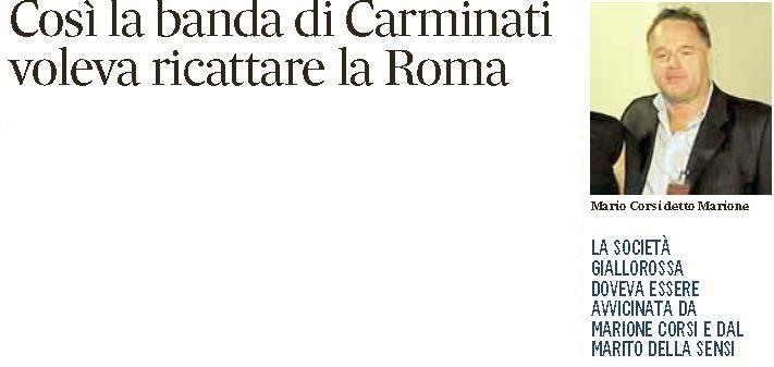 mario corsi carminati roma