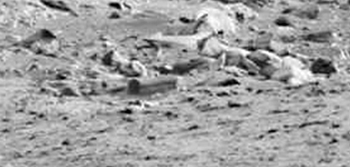 Eccola qui, la bara abbandonata sulla superficie Marte (Fonte: http://www.whatsupinthesky.com/)