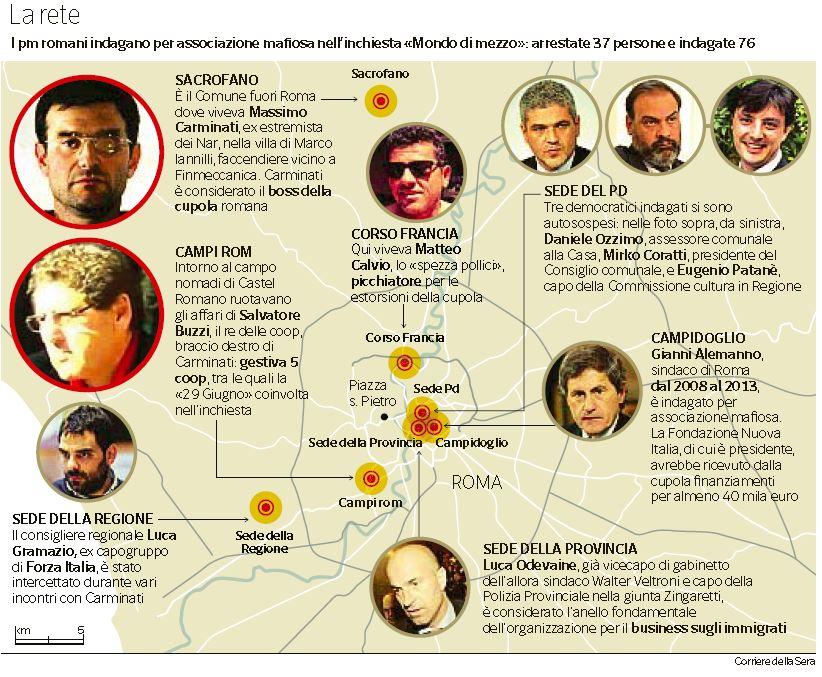 ## Mafia Capitale, sentenza di primo grado attesa per le 13