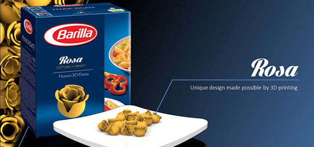 pasta barilla 3d