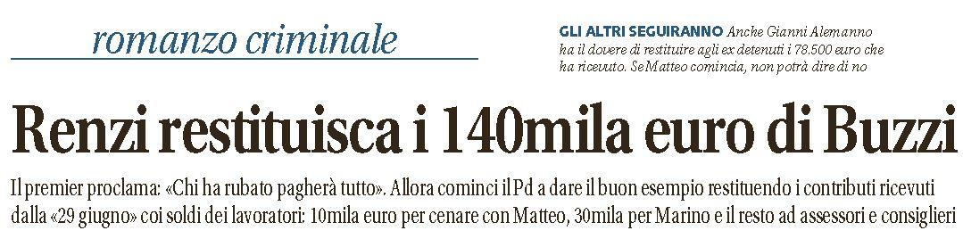 pd 140mila euro buzzi