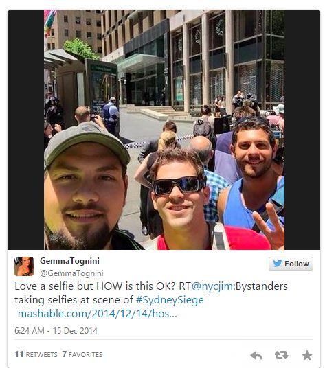 selfie lindt sydney