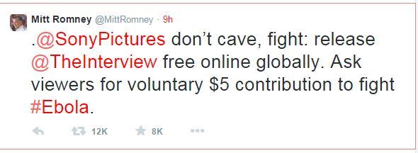 Mitt Romney è famoso per avere le idee chiare (fonte: Twitter.com)