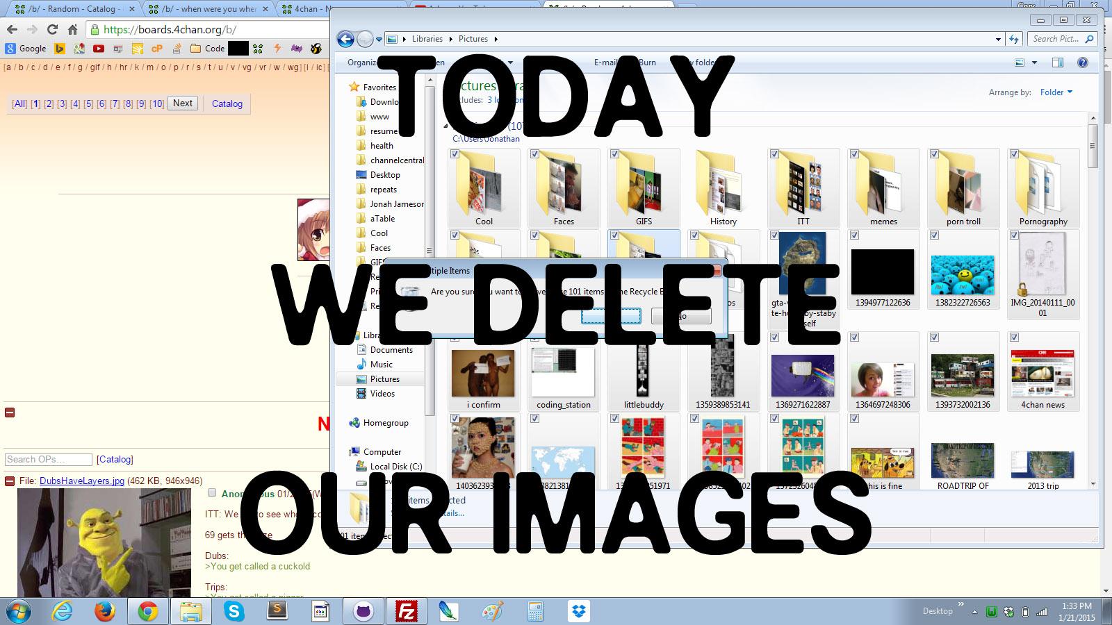 L'estremo sacrificio in onore di moot (via 4chan.org)