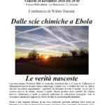 Dalle scie chimiche a Ebola