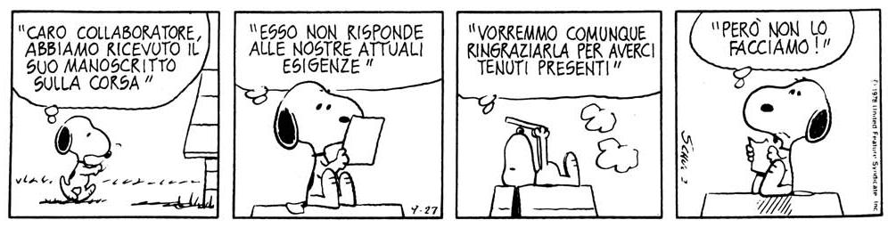 Snoopy No grazie