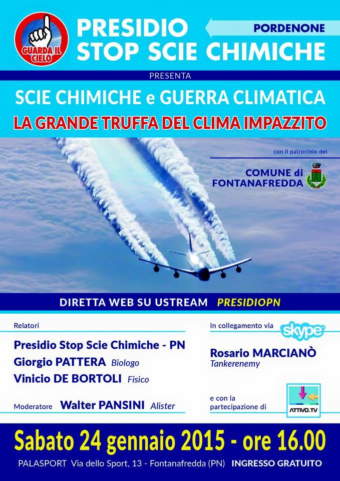 Stop scie chimiche