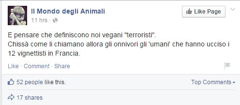 false flag - 8 vegan terrorismo