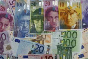 franco svizzero euro 1