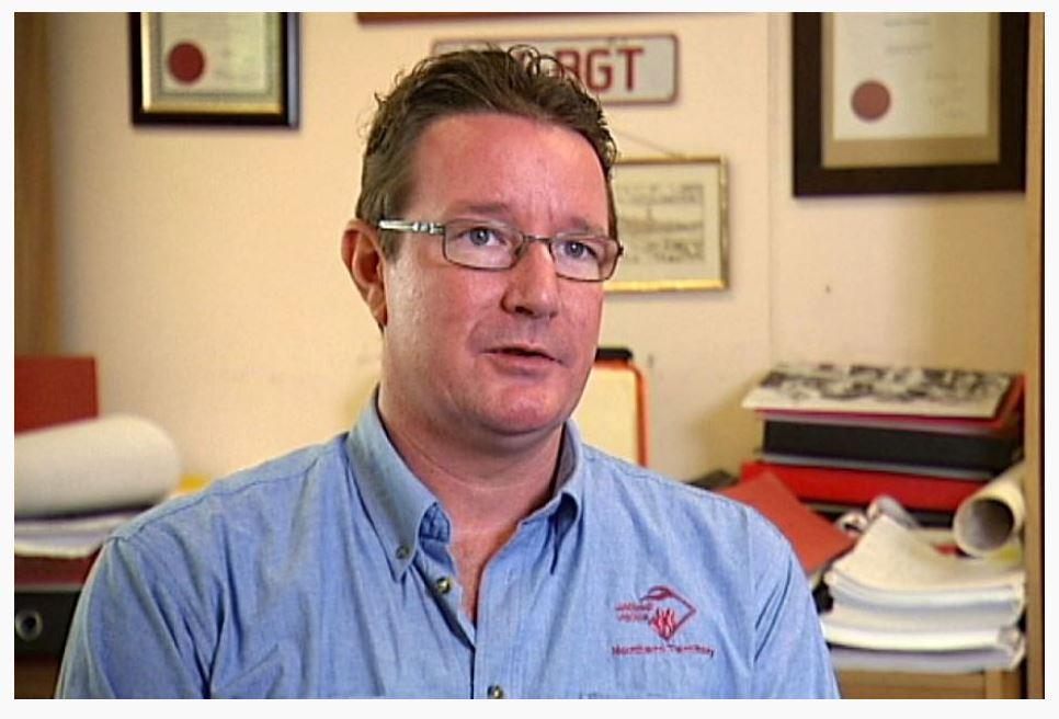 Il sindacalista ed ex-membro del labour australiano Matthew Gardiner (fonte: abc.net.au)