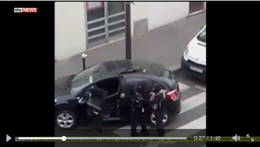 kouachi video parigi charlie hebdo
