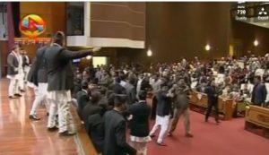 nepal rissa parlamento