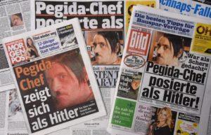 La pagina facebook di Pegida annuncia le dimissioni di Bachmann